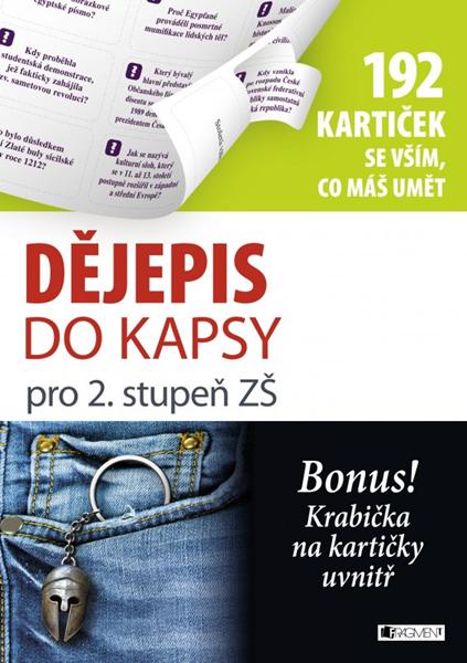 Dějepis do kapsy pro 2. stup. ZŠ - Milan Hes - 21x30 cm