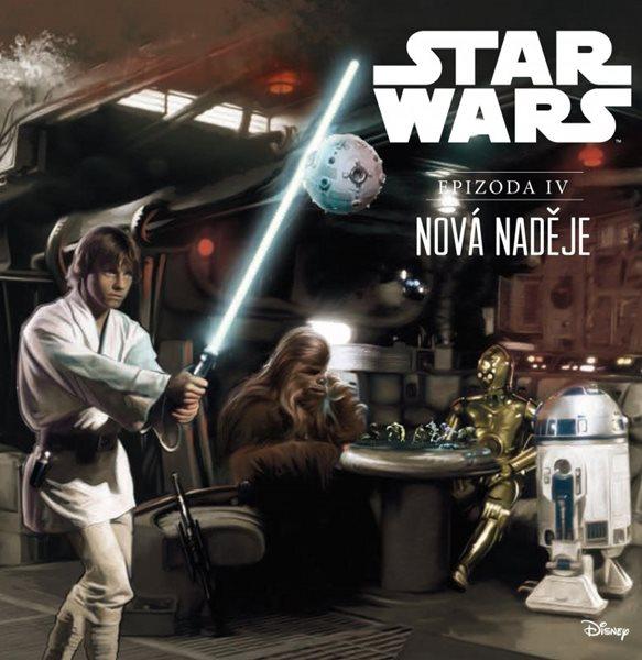 Star Wars IV: Nová naděje (ilustrované vydání) - Ryder Windham - 21x21 cm