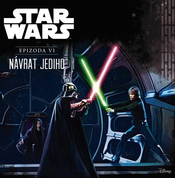 Star Wars VI: Návrat Jediho (ilustrované vydání) - Ryder Windham - 21x21 cm
