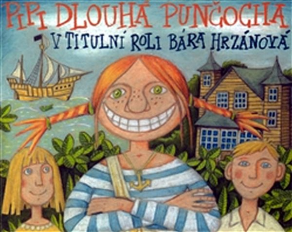 CD Pipi Dlouhá Punčocha - Lindgrenová Astrid - 13x14 cm