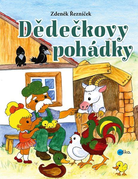 Dědečkovy pohádky - Zdeněk Řezníček - 21x27 cm, Sleva 16%