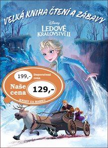 Ledové království 2 - Velká kniha čtení a zábavy