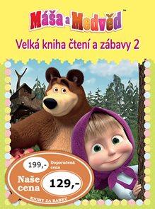 Máša a medvěd 2 - Velká kniha čtení a zábavy