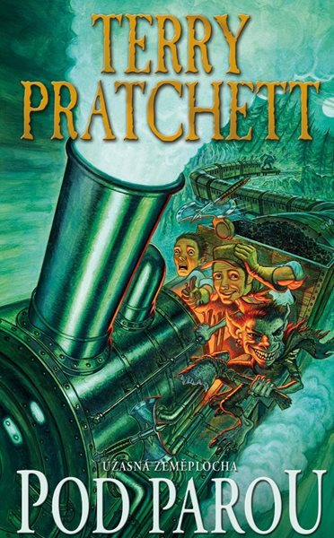 Pod parou - Terry Pratchett - 11x18 cm