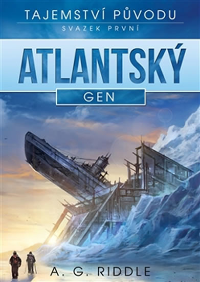 Atlantský gen - A.G. Riddle - 15x21 cm