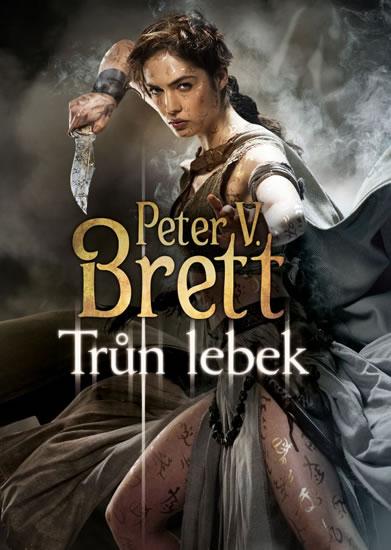 Trůn lebek - Peter V. Brett - 16x21 cm, Sleva 30%
