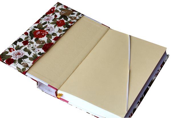 Univerzální obal na knihu - Květy