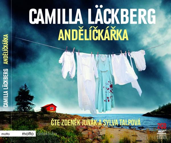 CD Andělíčkářka - Camilla Läckberg - 13x17 cm