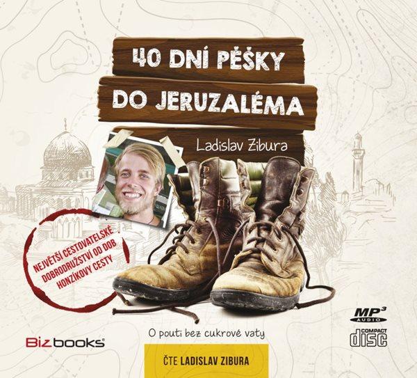 CD 40 dní pěšky do Jeruzaléma - 14x13 cm
