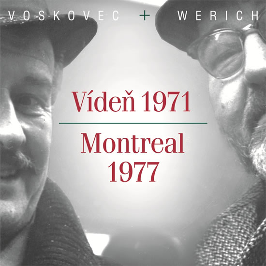 CD Vídeň 1971 - Montreal 1977 - Voskovec Jiří, Werich Jan - 14x13 cm