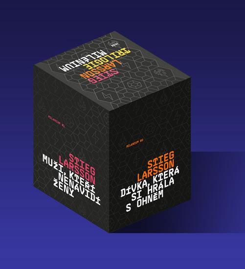Milénium BOX - Larsson Stieg - 16x22 cm