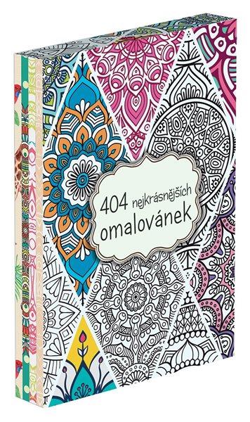 404 nejkrásnějších omalovánek BOX - 21x30 cm
