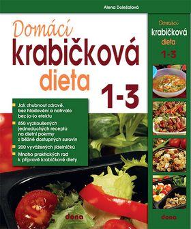 Domácí krabičková dieta 1-3 - Alena Doležalová - 15x24 cm