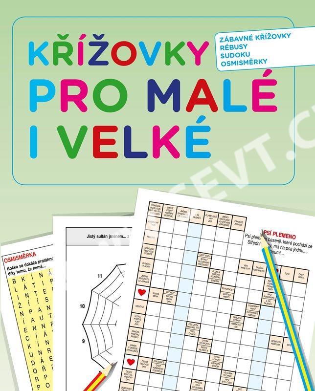 ef7e366e2db Křížovky pro malé i velké dárkový box - SEVT.cz