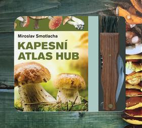 Kapesní atlas hub + houbařský nůž - Miroslav Smotlacha - 19x17 cm