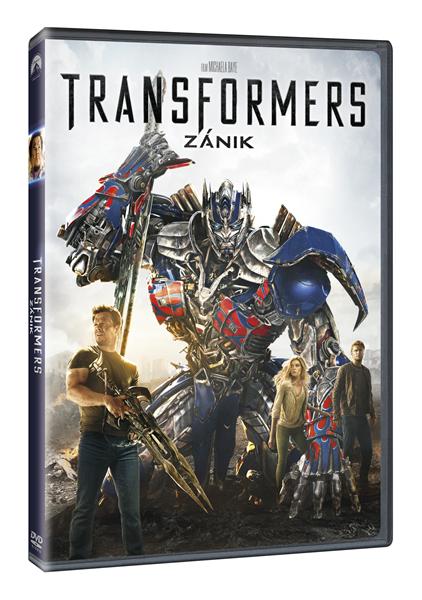 DVD Transformers: Zánik - Michael Bay - 13x19