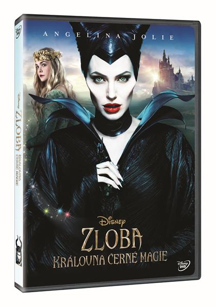 DVD Zloba – Královna černé magie - Robert Stromberg - 13x19