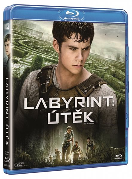 Labyrint: Útěk Blu-ray - Wes Ball - 13x19 cm