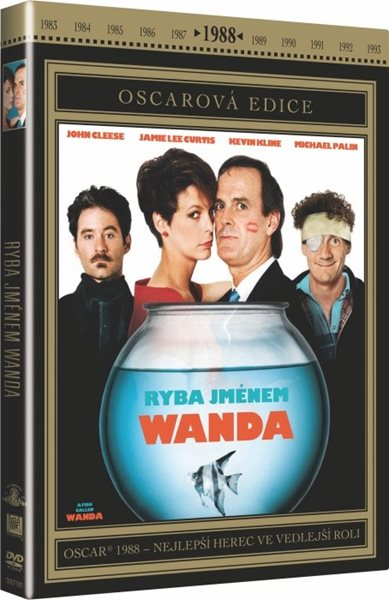 DVD Ryba jménem Wanda - Charles Crichton, John Cleese - 13x19 cm