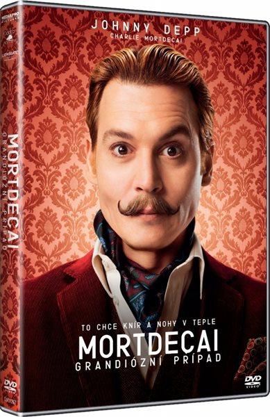 DVD Mortdecai: Grandiózní případ - David Koepp - 13x19 cm