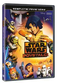 Star Wars: Povstalci 1. série 3DVD - 13x19 cm
