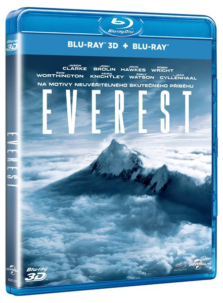 Everest Blu-ray 3D + 2D