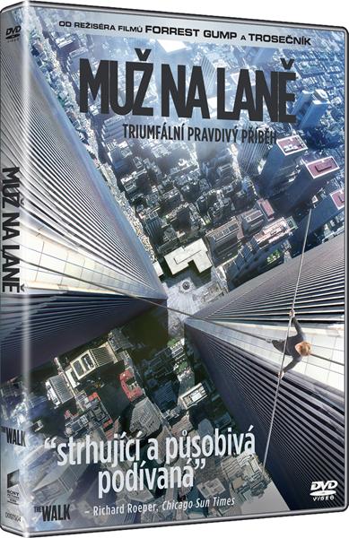 DVD Muž na laně - Robert Zemeckis