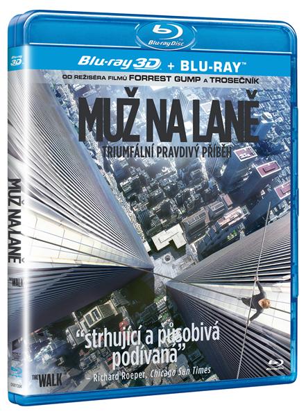 Muž na laně 2D + 3D Blu-ray - Robert Zemeckis