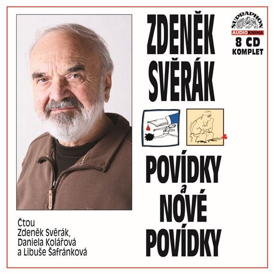 Svěrák: Povídky a Nové povídky komplet 8 CD - Svěrák Zdeněk