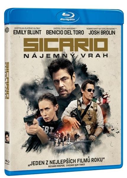 Sicario - Nájemný vrah Blu-ray - Denis Villeneuve