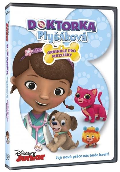 DVD Doktorka Plyšáková: Ordinace pro mazlíčky - Walt Disney