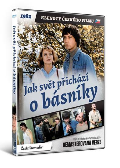DVD Jak svět přichází o básníky - edice KLENOTY ČESKÉHO FILMU - neuveden