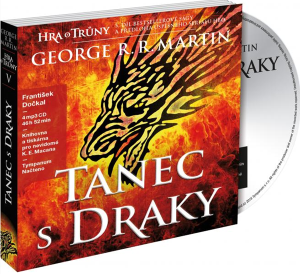 CD Tanec s draky - George R. R. Martin
