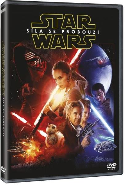 DVD Star Wars: Síla se probouzí