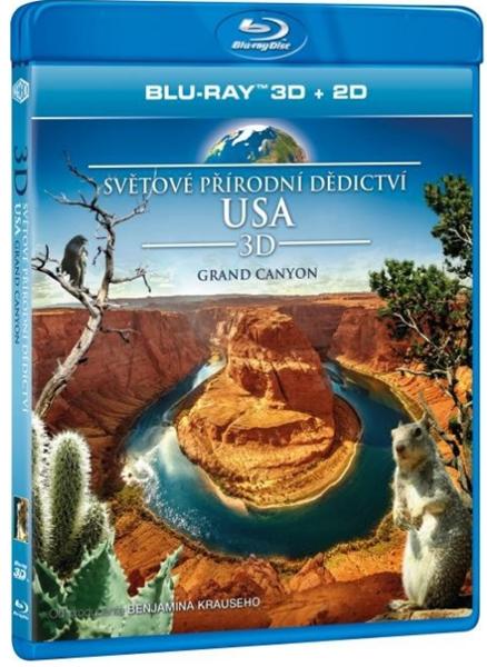 Světové přírodní dědictví: USA - Grand Canyon Blu-ray 3D+2D