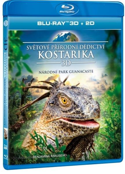 Světové přírodní dědictví: Kostarika - Národní park Guanacaste Blu-ray 3D+2D
