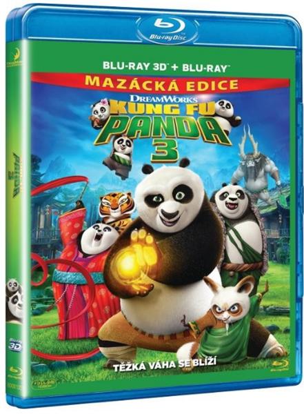 Kung Fu Panda 3 Blu-ray 3D+2D