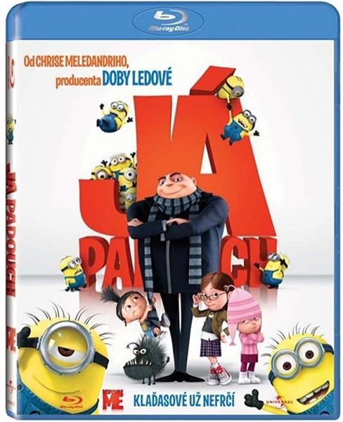 Já, padouch Blu-ray