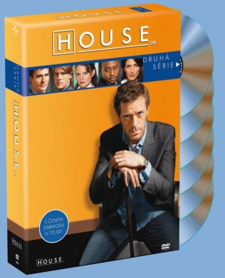 DVD Dr. House 2. série