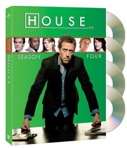 DVD Dr. House 4. série