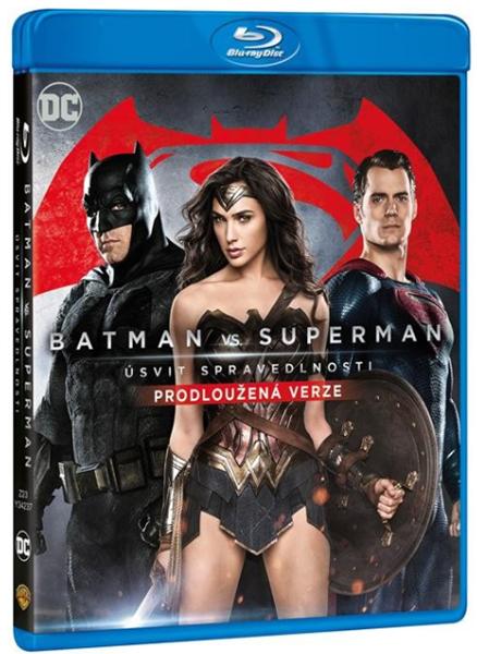Batman vs. Superman: Úsvit spravedlnosti - prodloužená verze 2 Blu-ray - Zack Snyder