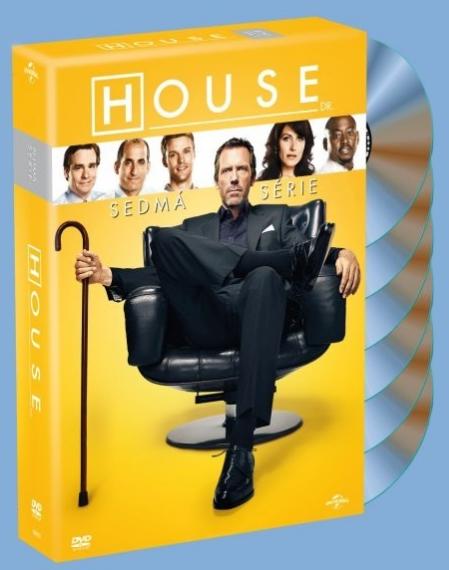 DVD Dr. House 7. série