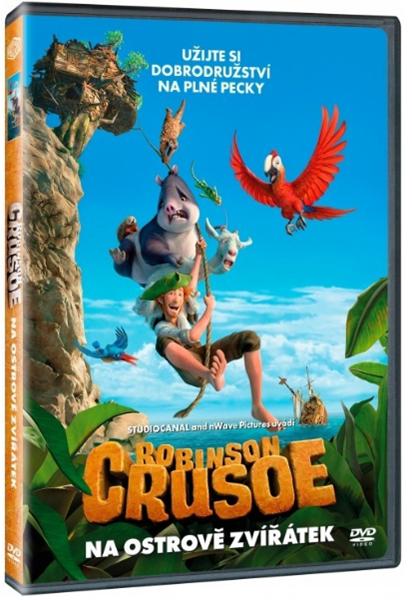 DVD Robinson Crusoe: Na ostrově zvířátek