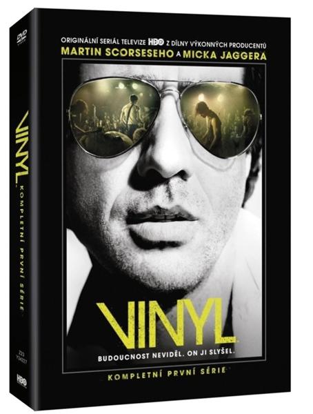 Vinyl 1. série 4 DVD - Martin Scorsese, Allen Coulter a další