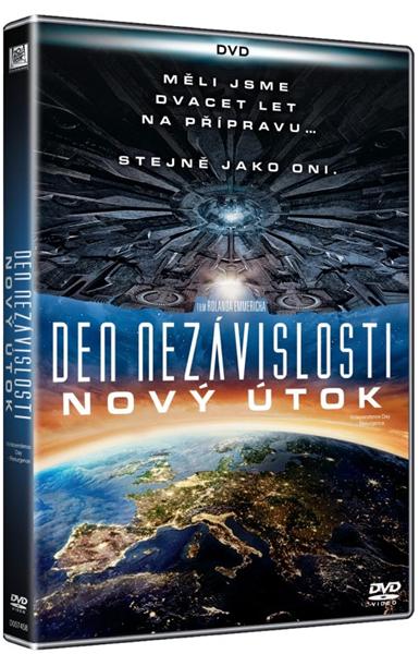 DVD Den nezávislosti : Nový útok - Roland Emmerich
