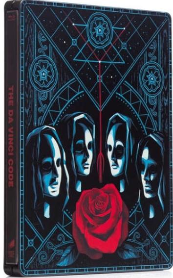 Šifra mistra Leonarda Blu-ray steelbook