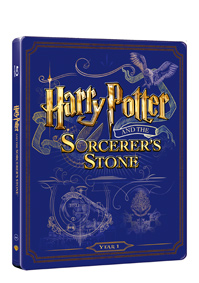 Harry Potter a kámen mudrců Blu-ray +DVD bonus - steelbook