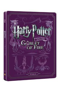 Harry Potter a ohnivý pohár Blu-ray +DVD bonus - steelbook