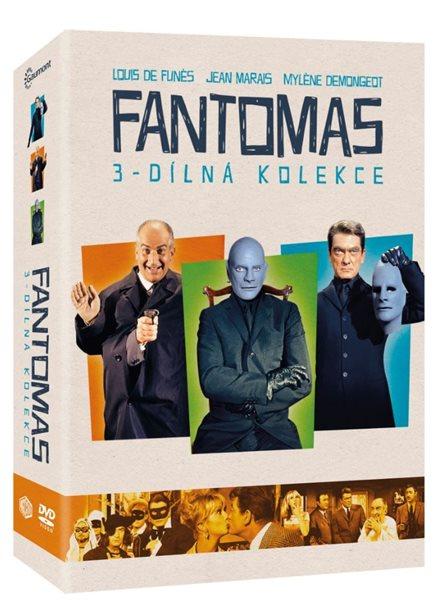 Kolekce Fantomas 3 DVD