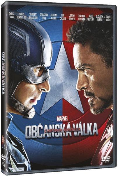 DVD Captain America: Občanská válka